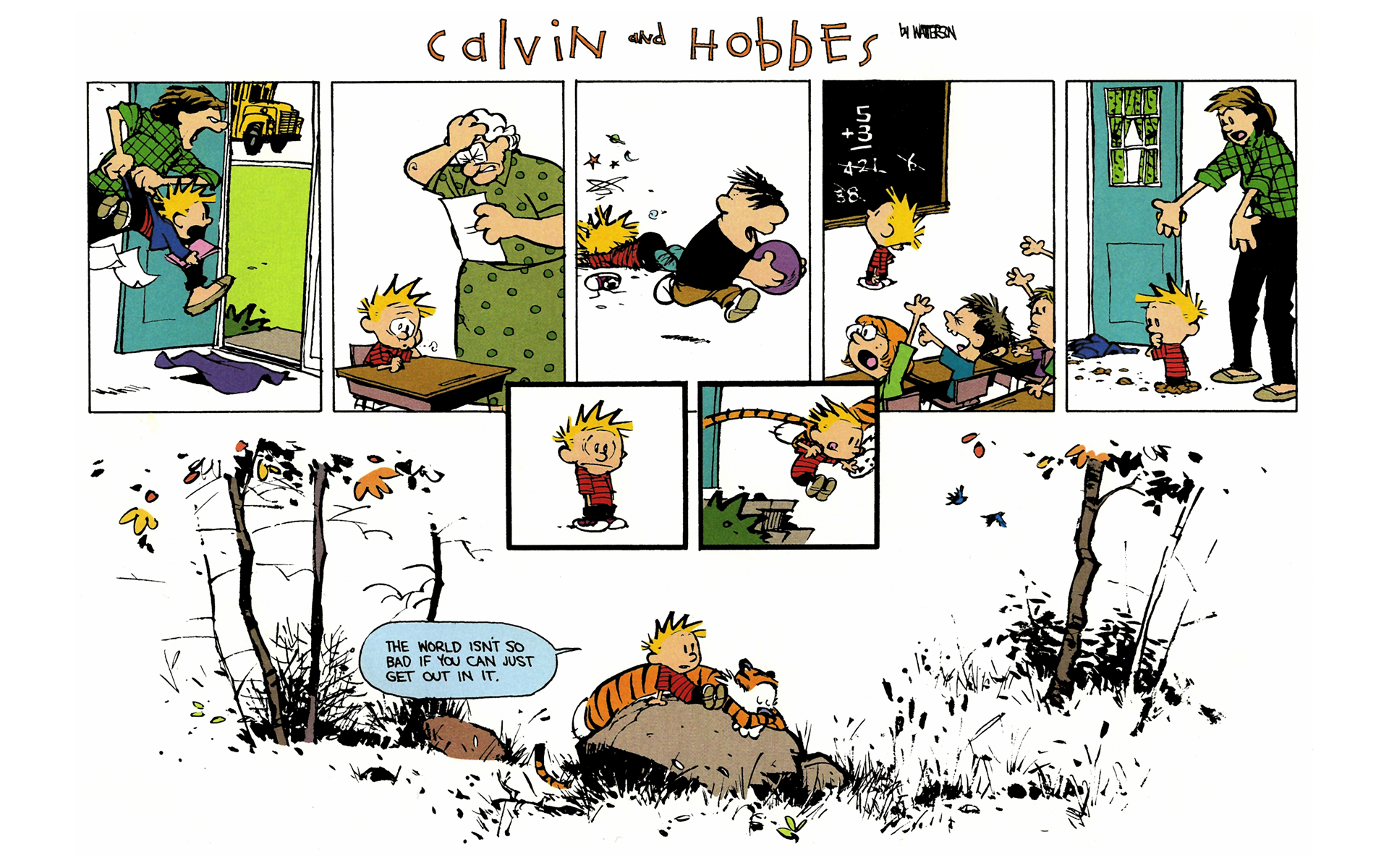 Calvin And Hobbes HD Wallpapers