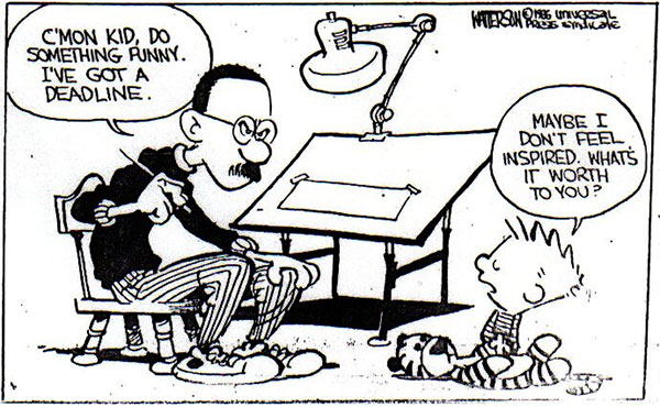 Image result for Bill Watterson