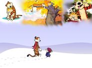 Calvin and Hobbes by ashantiwolfrider