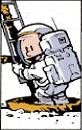 Calvin the Astronaut
