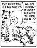 Calvin, Hobbes and Dupes