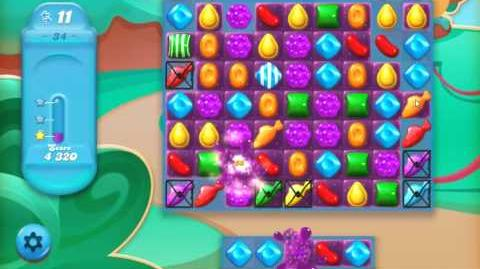 Candy Crush Jelly Saga Level 34