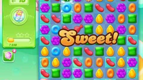 Candy Crush Jelly Saga Level 8 (Facebook) No Boosters 3 Stars!