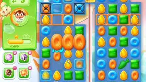 Candy Crush Jelly Saga Level 721 (3 star, No boosters)