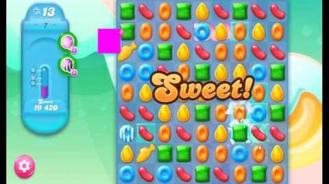 Candy Crush Jelly Saga Level 7 NEW (1st revision)