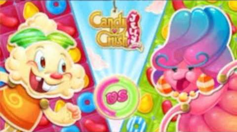 Candy Crush Jelly Saga - Monkling Theme