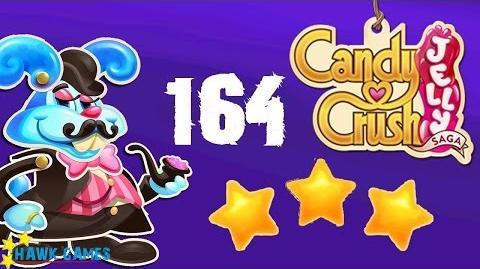 Candy Crush Jelly - 3 Stars Walkthrough Level 164 (Monkling Boss mode)