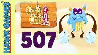 Candy Crush Jelly Saga Level 507 (Puffler Boss mode) - 3 Stars Walkthrough, No Boosters