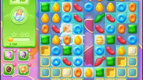 Candy Crush Jelly Saga Level 56 Hard Level NO BOOSTER