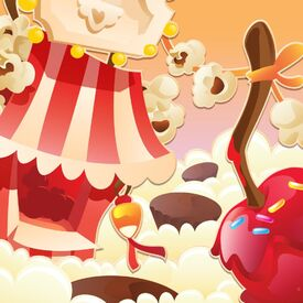 Caramel Carnival background
