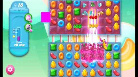Candy Crush Jelly Saga Level 14 NEW (1st revision)