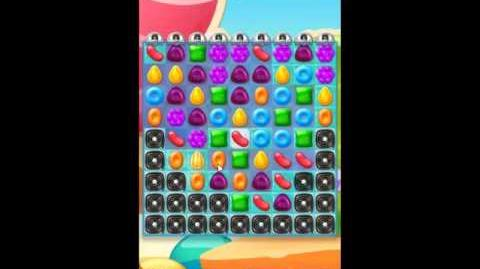 Candy Crush Jelly Saga Level 206 - NO BOOSTERS