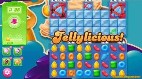 Candy Crush Jelly Saga Level 439 (3 star, No boosters)