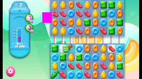 Candy Crush Jelly Saga Level 18 NEW (1st revision)
