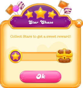 Star Chase message