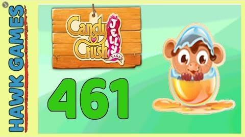 Candy Crush Jelly Saga Level 461 (Monkling mode) - 3 Stars Walkthrough, No Boosters