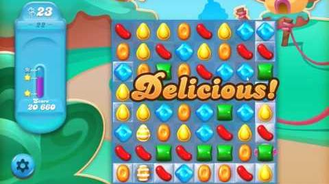Candy Crush Jelly Saga Level 22