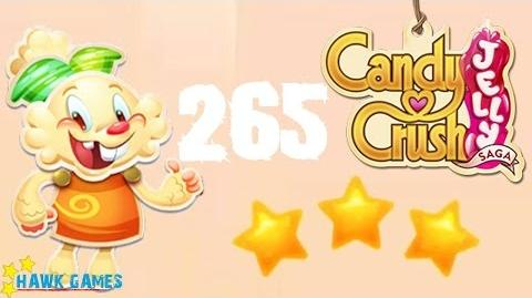 Candy Crush Jelly - 3 Stars Walkthrough Level 265 (Jelly mode)
