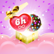 Celebrate candy crush jelly 2 years FREE GIFT cover