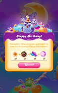 Birthday Bash Level 5 completed rewards