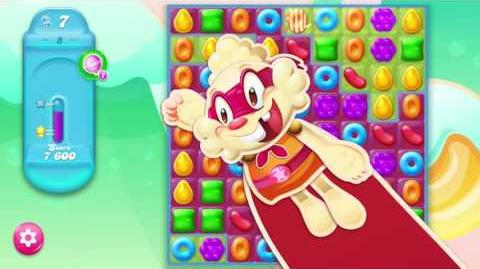 Candy Crush Jelly Saga- Play (RED). Give life.