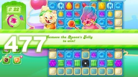 Candy Crush Jelly Saga Level 477 (3 star, No boosters)