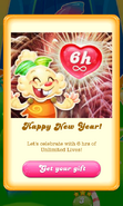 Free Gift happy new year 2018