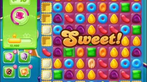 Candy Crush Jelly Saga Level 427 (3 star, No boosters)