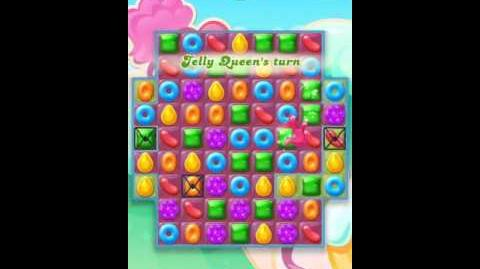 Candy Crush Jelly Level 11-New board layout