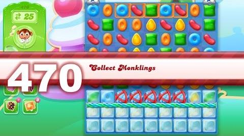 Candy Crush Jelly Saga Level 470 (No boosters)