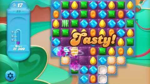 Candy Crush Jelly Saga Level 25