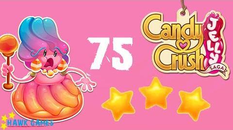 Candy Crush Jelly - 3 Stars Walkthrough Level 75 (Jelly Boss mode)