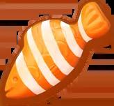 Orangefishstriped