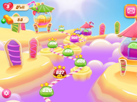 Lemony Sweet Beach Map 2
