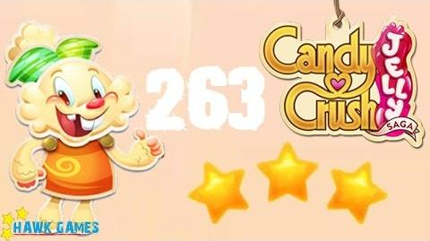 Candy Crush Jelly - 3 Stars Walkthrough Level 263 (Jelly mode)
