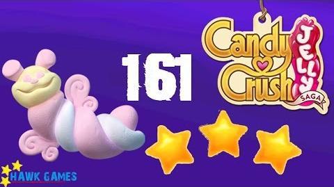 Candy Crush Jelly - 3 Stars Walkthrough Level 161 (Puffler mode)