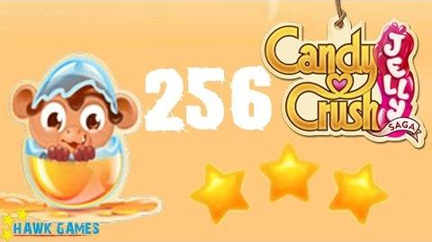 Candy Crush Jelly - 3 Stars Walkthrough Level 256 (Monkling mode)