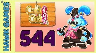Candy Crush Jelly Saga Level 544 (Monkling Boss mode) - 3 Stars Walkthrough, No Boosters