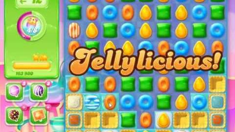 Candy Crush Jelly Saga Level 281 - NO BOOSTERS