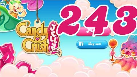 Candy Crush Jelly Saga Level 243 No Boosters