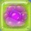 Purple in Green Jelly cube