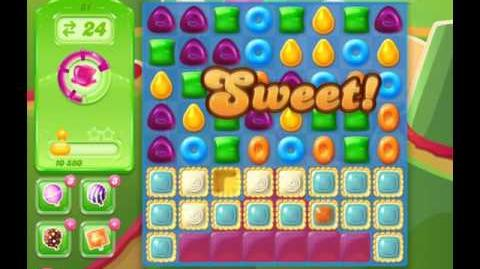 Candy Crush Jelly Saga Level 81