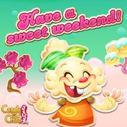 Have a sweet weekend!