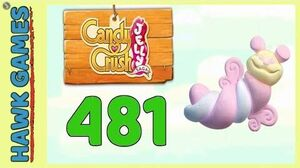 Candy Crush Jelly Saga Level 481 (Puffler mode) - 3 Stars Walkthrough, No Boosters