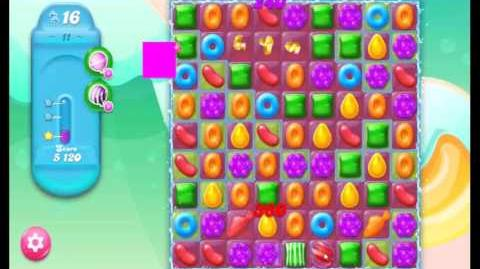 Candy Crush Jelly Saga Level 11 NEW (1st revision)