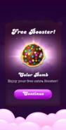 Watch Ad Free Booster Color Bomb