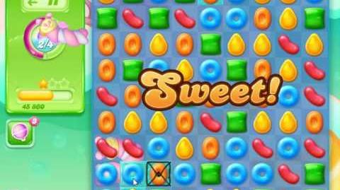 Candy Crush Jelly Saga Level 10 (Facebook) No Boosters 3 Stars!