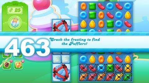 Candy Crush Jelly Saga Level 463 (No boosters)
