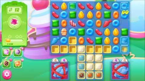 Candy Crush Jelly Saga Level 474 With NO Boosters
