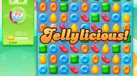 Candy Crush Jelly Saga Level 6 (Facebook) No Boosters 3 Stars!
